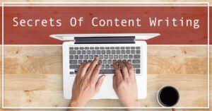 Secretes of Content Writing - Bindura Digital Marketing