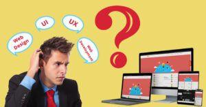 Difference Between Web Design, Web Development, UI, UX- Bindura Digital Marketing