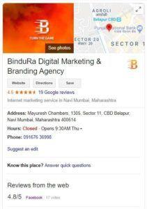 SEO service provider in Navi Mumbai Bindura Digital Marketing Company